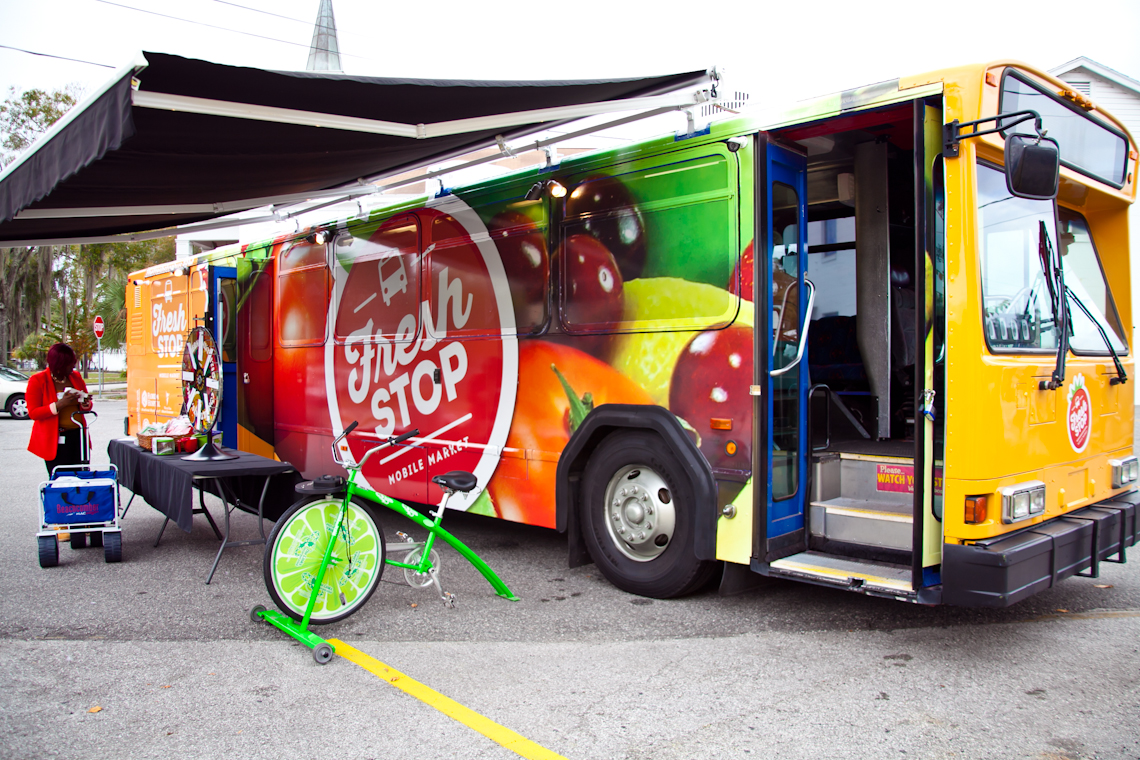 Orlando's Launch of the Fresh Stop Bus