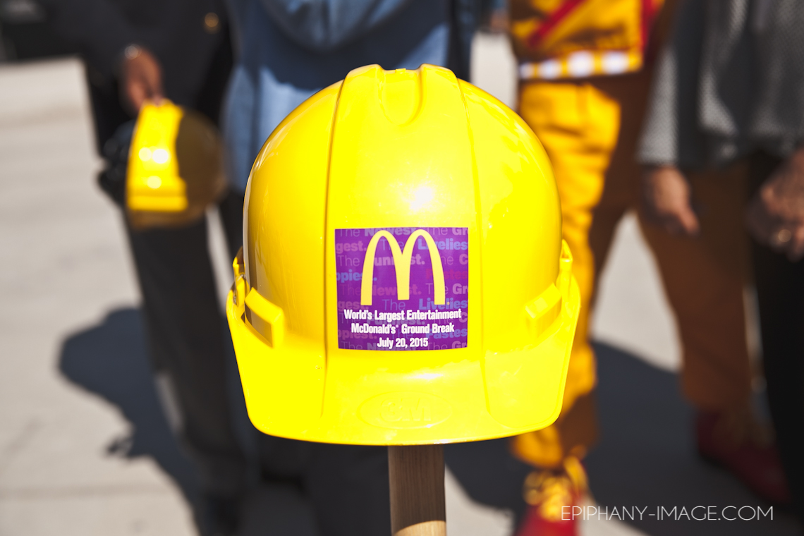World's Largets Entertainment McDonald's Groundbreaking Ceremony | 7.20.15