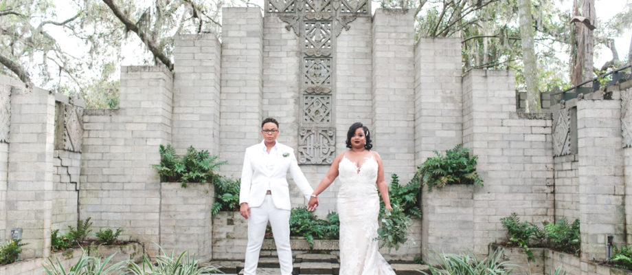 Carla and Lavonda tie the knot at the Maitland Art & History Museums