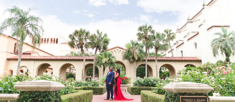 Rollins College Engagement Session : Prince & Trinearr